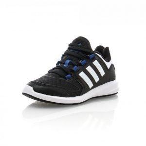 Adidas S-Flex K Junior Juoksukengät Musta / Valkoinen