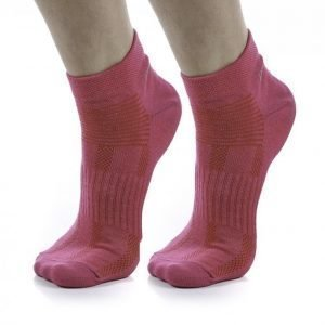 Blacc 2-Pack Run Sock Color Juoksusukat Roosa
