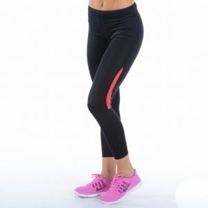 Craft Active Run Tights Juoksutrikoot Musta / Roosa