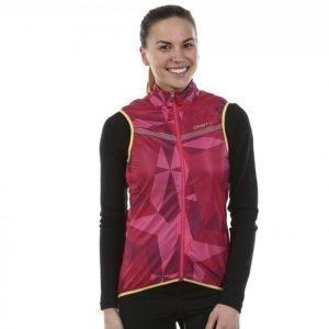 Craft Featherlight Vest Juoksuliivi Roosa