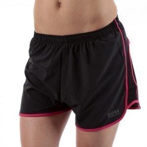 Gore Running Wear Essential Lady Split Shorts Juoksushortsit Musta / Roosa
