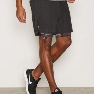 New Look Camo Shorts Juoksushortsit Black