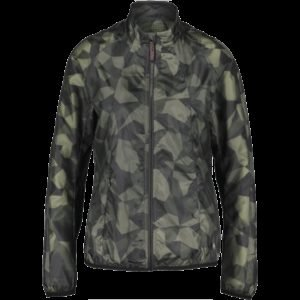 Newline Black Camo Windshield Jacket Juoksutakki
