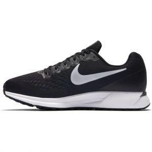 Nike Air Zoom Pagasus 34 Juoksukengät Mustavalkoinen