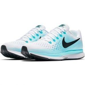 Nike Air Zoom Pegasus 34 Juoksukengät Sininen / Valkoinen