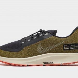 Nike Air Zoom Pegasus 35 Shield Juoksukengät Olive / Silver