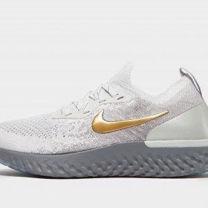 Nike Epic React Flyknit Juoksukengät Harmaa