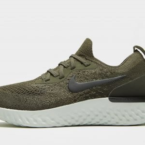 Nike Epic React Flyknit Juoksukengät Khaki