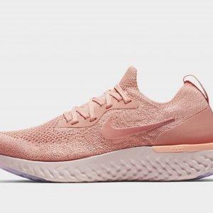 Nike Epic React Flyknit Juoksukengät Vaaleanpunainen