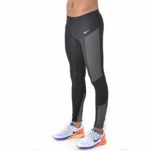 Nike Flash Tight Juoksutrikoot Musta