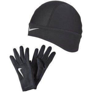 Nike Juoksupipo + Juoksukäsineet Setti Naisille