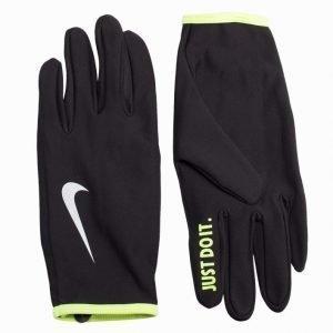 Nike Lightwight Rivel Run Gloves Juoksukäsineet Volt