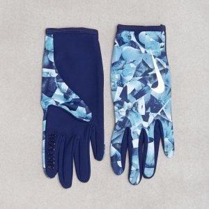 Nike Lw Rival Run Glove Juoksukäsineet Sininen