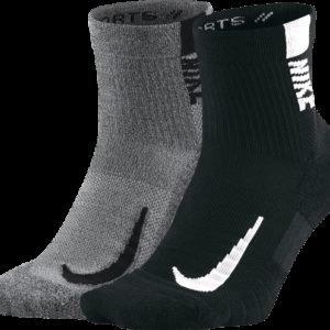 Nike Nk Mltplier Ankle 2pr Juoksusukat