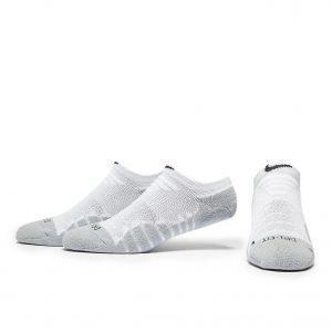 Nike No Show Running Socks Juoksusukat Valkoinen 3-Pakkaus