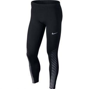 Nike Power Run Juoksutrikoot Musta