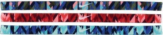 Nike Print Headband 3pk Otsanauha
