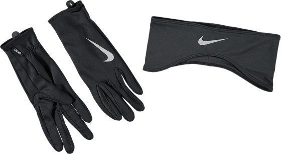 Nike Run Df Headband/Glove Set Juoksusetti