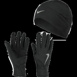 Nike Run Dry Hat And Glove Set Juoksukäsineet Ja Juoksupipo Setti