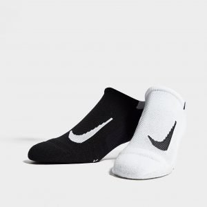 Nike Running Performance Juoksusukat Musta 2-Pakkaus