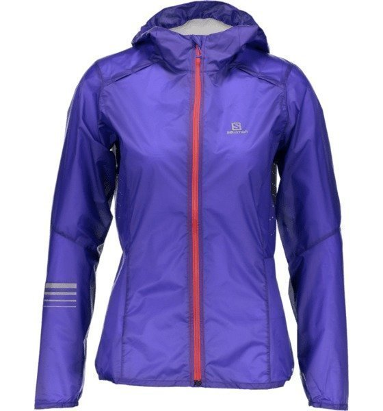 Salomon Light Wind Hood Juoksutakki