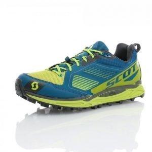 Scott Kinabalu Supertrac Maastojuoksukengät Sininen / Keltainen