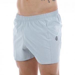 Skins Plus Attrex Mens Shorts 4 Inch Juoksushortsit Harmaa